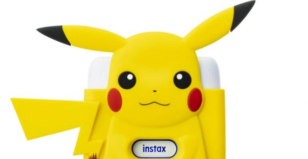 Playing with the Fujifilm instax mini Link Printer Pikachu Special Edition
