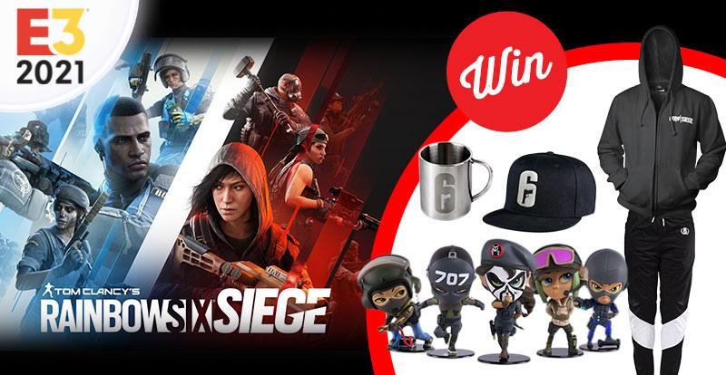 WIN a Rainbow Six Siege prize pack!