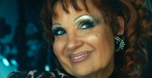 This is Jessica Chastain in The Eyes of Tammy Faye
