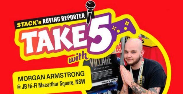 Take 5 games – Morgan Armstrong at JB Macarthur Square