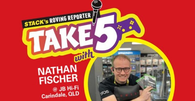 Take 5 games – Nathan Fischer at JB Carindale