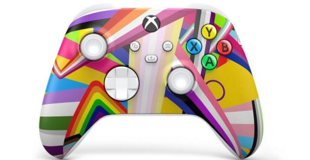 Check out this amazing Xbox Pride controller!