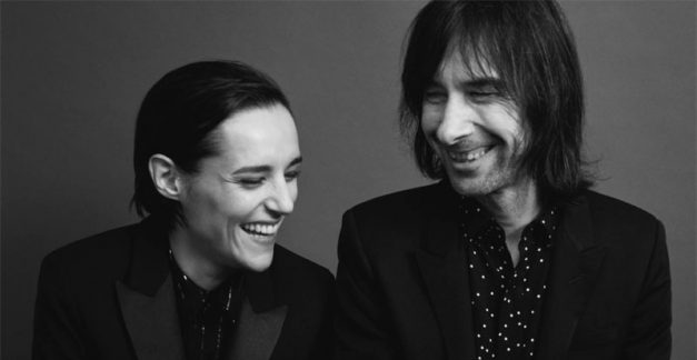 Bobby Gillespie and Jehnny Beth, 'Utopian Ashes' review