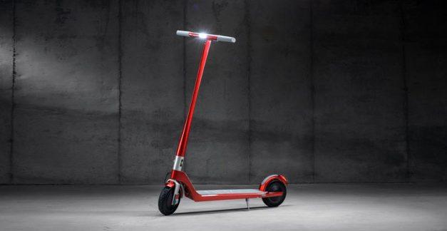Unagi debut premium luxury electric scooter