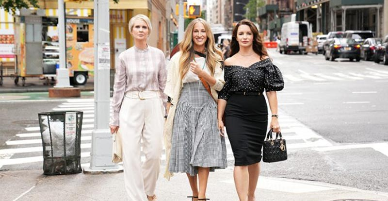 And Just Like That… It's a first look at new Sex and the City