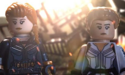 Marvel's Black Widow, but in LEGO