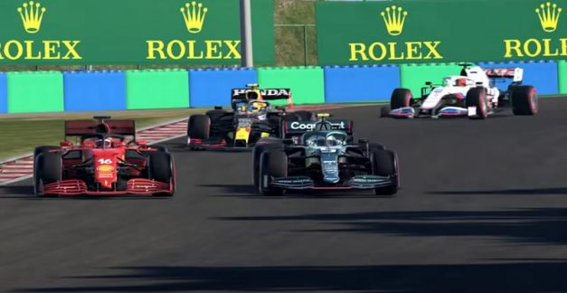 Round and round they go in F1 2021
