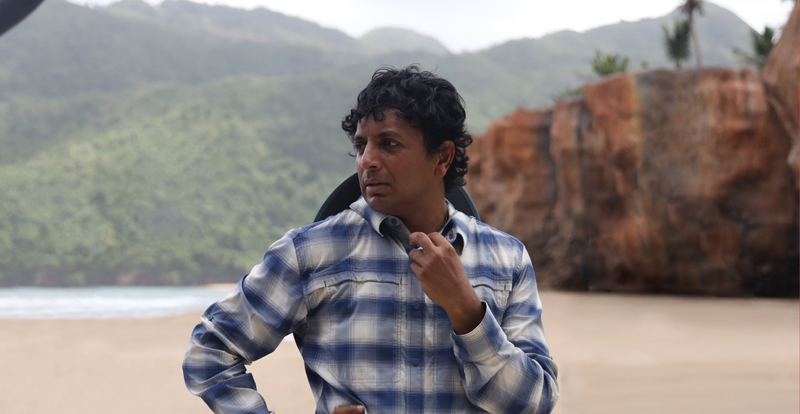 Interview with M. Night Shyamalan and Abbey Lee – Old