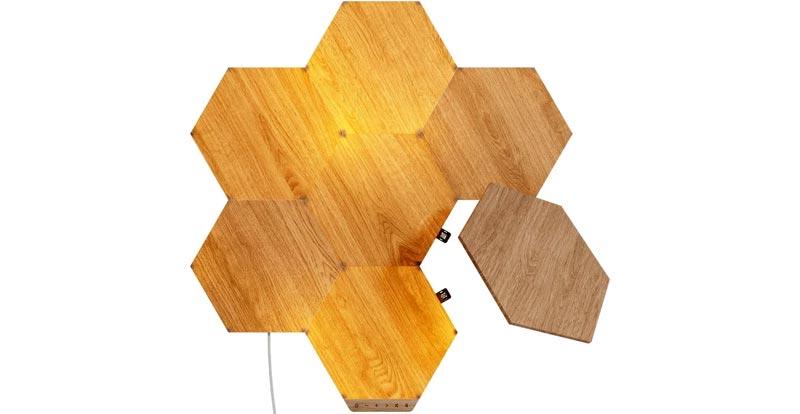 Nanoleaf Elements Wood Look Starter Kit