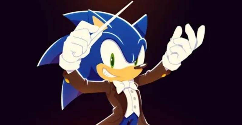 Sonic goes to the symphony!