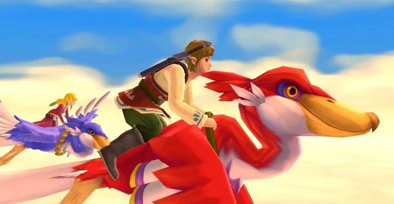 The Legend of Zelda: Skyward Sword HD is go!
