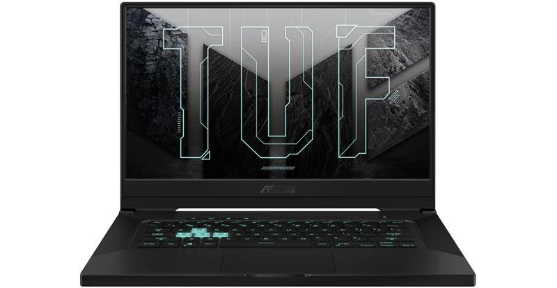 Playing with the ASUS TUF Dash F15 gaming laptop