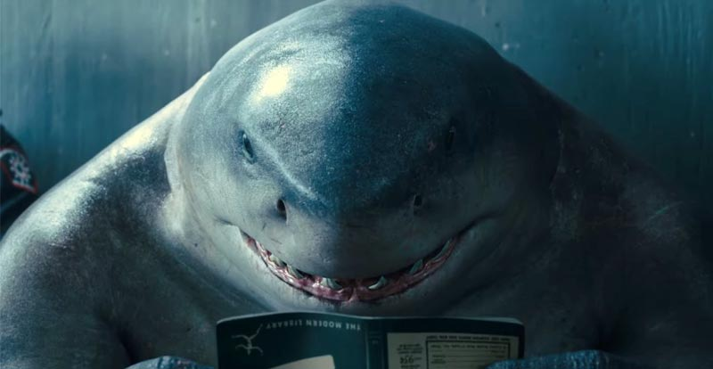 Celebrate Shark Week with The Suicide Squad