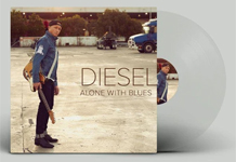 Album cover artwork for Diesel with vinyl record popping out