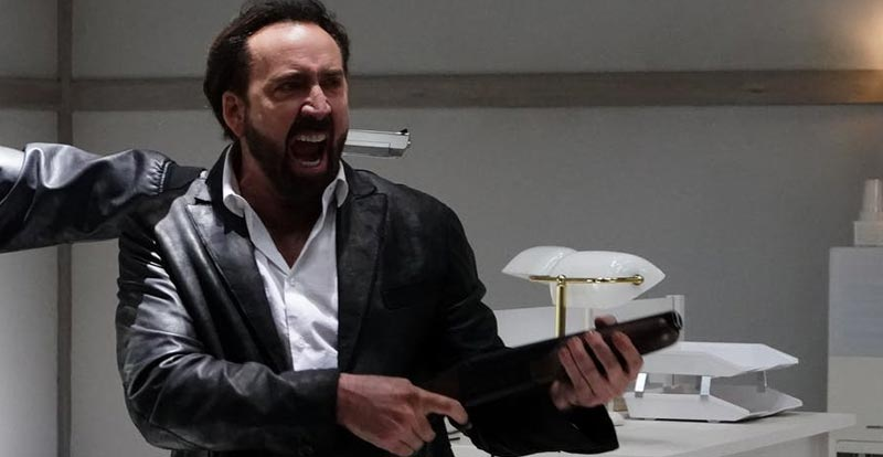 Nicolas Cage is set to explode in Prisoners of the Ghostland