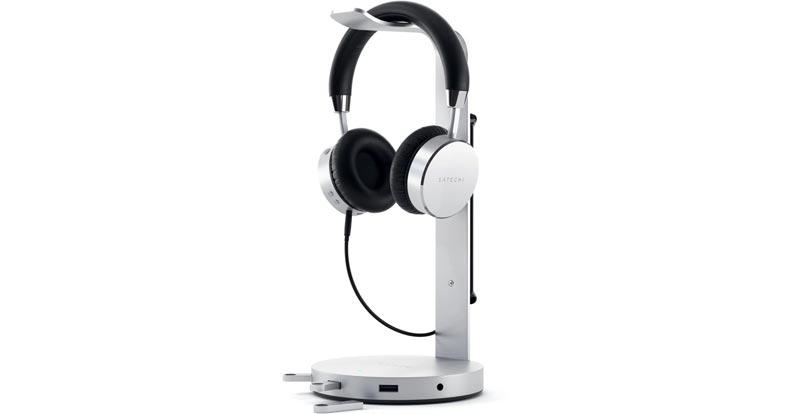 Satechi USB Headphone Stand Hub