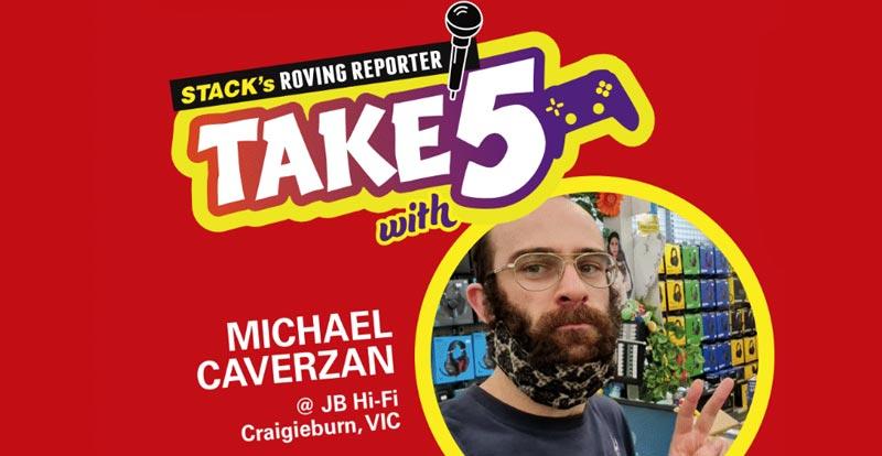 Take 5 games – Michael Caverzan at JB Craigieburn