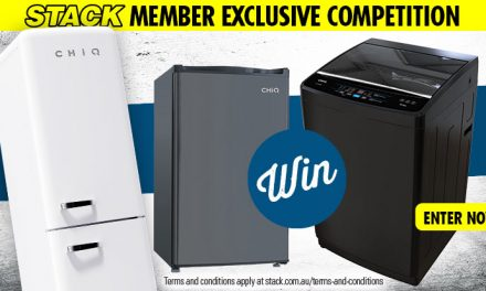 WIN the ULTIMATE CHIQ home appliance pack!