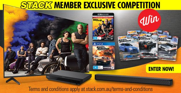 WIN the Ultimate Fast & Furious 9 65″ Sony TV and home audio pack!