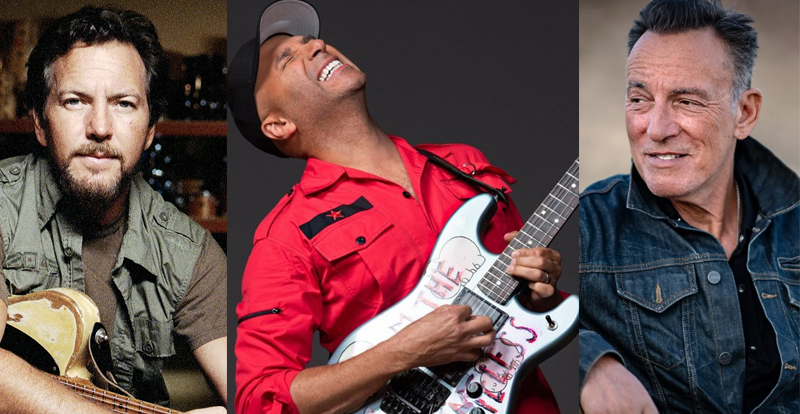 Prepare yourselves: Tom Morello, Eddie Vedder and The Boss cover AC/DC