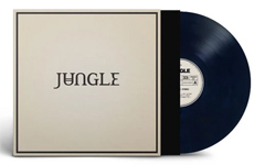 Album cover artwork for Jungle with vinyl record popping out