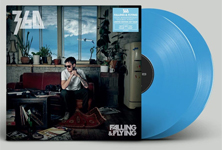Album cover artwork for 360 with blue vinyl record popping out