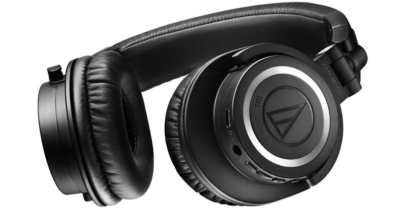 Playing with the Audio-Technica ATH-M50XBT2 Wireless Headphones