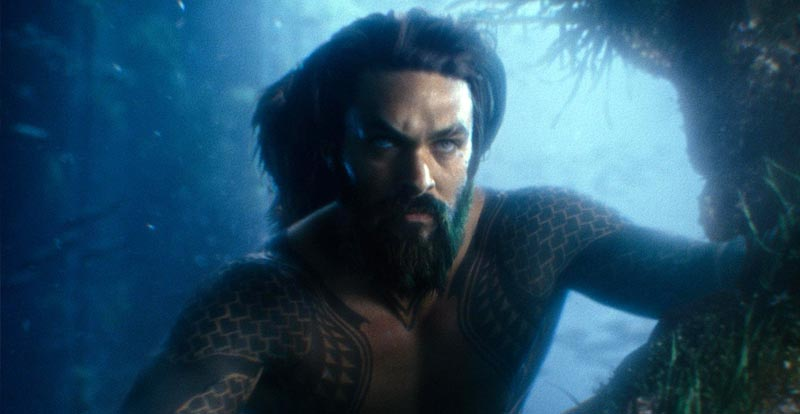 Suiting up with Aquaman!
