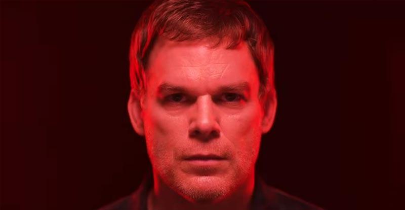 The line between Michael C. Hall and Dexter