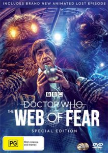 Dr Who The Web of Fear keyart
