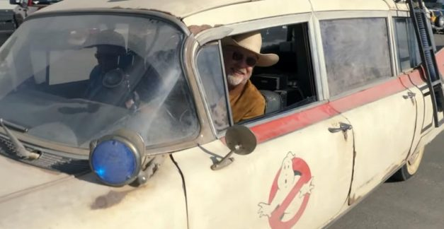 Test driving Ghostbusters: Afterlife's ECTO-1