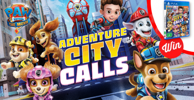 WIN PAW Patrol Adventure City Calls for PS4!