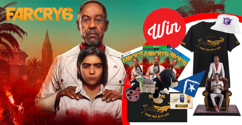 WIN an epic Far Cry 6 prize pack!