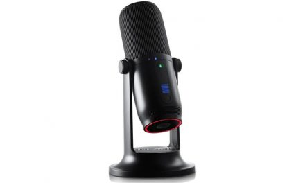 Playing with the Thronmax MDRILL One Pro USB microphone