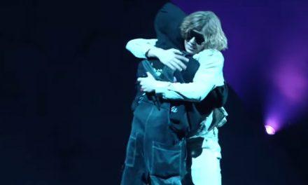 Watch Justin Bieber & The Kid LAROI perform at the MTV VMAs