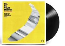Album cover artwork for Velvet Underground Tribute with black vinyl record popping out