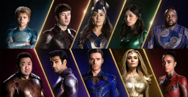 Five thinkers + five fighters = Marvel's Eternals