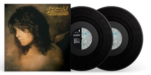 Album artwork for Ozzy Osbourne with black vinyl records popping out