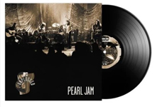 Album cover artwork for Pearl Jam with black vinyl record popping out