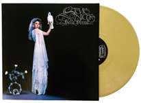 Album cover artwork for Stevie Nicks with gold vinyl record popping out