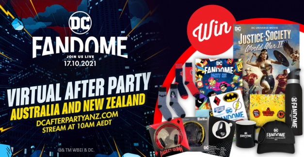 Celebrate DC FanDome and WIN!