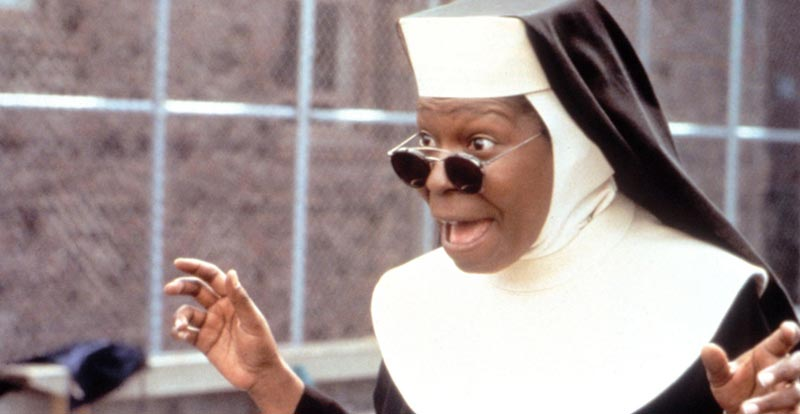Whoopi's getting back in the Sister Act habit