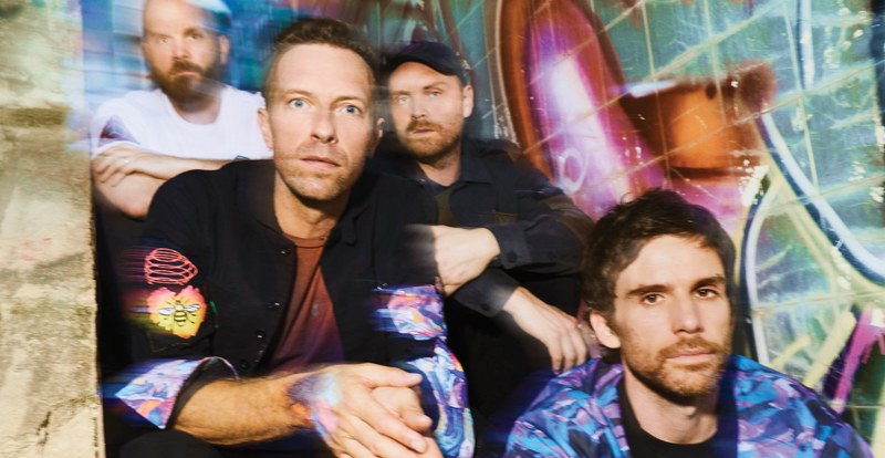 Coldplay go where aliens sphere to tread